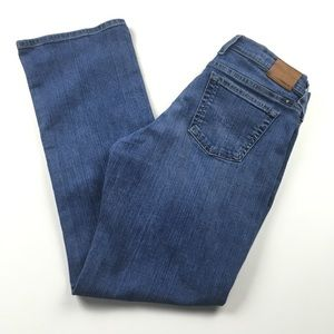 Lucky Brand Easy Rider Mid Rise Straight Jeans